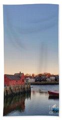 Rockport Massachusetts  Bath Towel