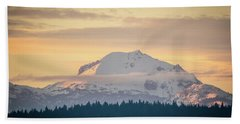 Rocky Cathedrals That Reach To The Sky Bath Towel
