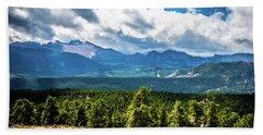 Rocky Mountain Np I Hand Towel