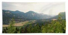Rocky Mountain Overlook Hand Towel