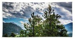 Rocky Mountain Pines Hand Towel