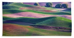 Rolling Hills Of The Palouse Hand Towel