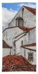 Rooftops Of Obidos Hand Towel