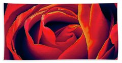 Rose Ablaze Bath Towel