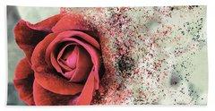 Rose Disbursement Bath Towel