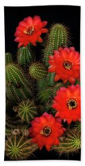 Rose Quartz Cactus  Bath Towel