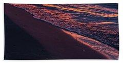 Rosy Tide Bath Towel