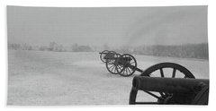 Row Of Cannon Hand Towel