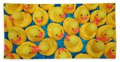Rubber Duck Meet And Greet Hand Towel
