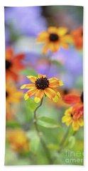 Rudbeckia Triloba Prairie Glow Flowers Hand Towel