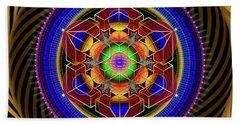 Sacred Geometry 763 Hand Towel