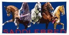 Saddlebred - The Horse America Made Bath Towel