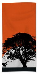 Safari Sunset Hand Towel