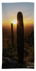 Saguaro Glow Bath Towel