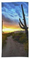 Saguaro Trail Hand Towel