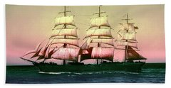 Sailing Ship Balclutha  Bath Towel