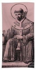 Saint Augustine 354-430, Bishop Of Hippo, Bath Towel