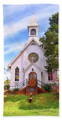 Saint Joseph Roman Catholic Church In Columbia Virginia Hand Towel