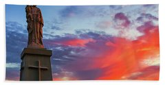 Saint Joseph Sunset  Bath Towel