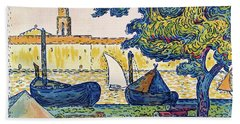 Saint-tropez, The Port Of St. Tropez - Digital Remastered Edition Hand Towel
