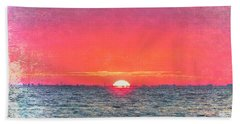 Salty Sunrise Bath Towel