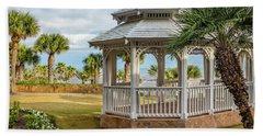Bath Towel featuring the photograph San Luis Gazebo by James Woody
