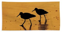 Sandpipers - At - Sunrise Hand Towel