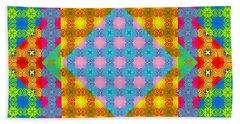 Sankofa Kaleidoscope Prime 1 Hand Towel