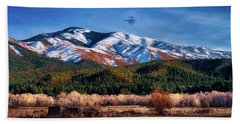 Santa Fe Baldy Mountain Hand Towel