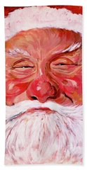 Santa Bath Towel