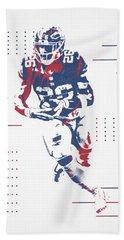Saquon Barkley New York Giants Pixel Art 100 Bath Towel