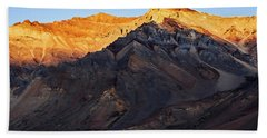 Hand Towel featuring the photograph Sarchu Sunrise by Whitney Goodey