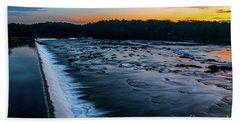 Savannah Rapids Sunrise - Augusta Ga Hand Towel