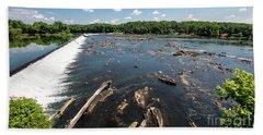 Savannah River Rapids - Augusta Ga Hand Towel
