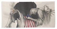 Saving Liberty Hand Towel