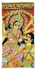 Scenes From The Ramayana Bath Towel