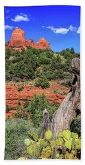 Schnebly Hill View, Sedona Bath Towel