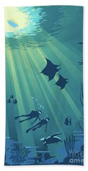 Scuba Dive Bath Towel