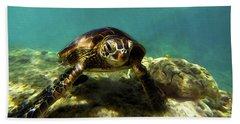 Sea Turtle  Bath Towel