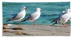 Seagulls Hand Towel