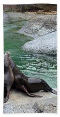 Zoo Photographs Bath Towels