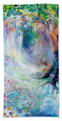 Searching For Forgotten Paths IIi Hand Towel