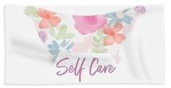 Self Care- Art By Linda Woods Hand Towel