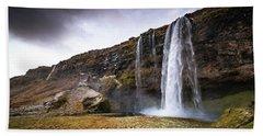 Seljalandsfoss Bath Towel