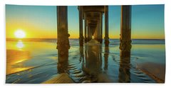 Serenity In San Diego Sunset 2 Hand Towel