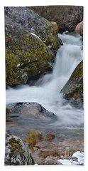 Serra Da Estrela Waterfalls. Portugal Hand Towel