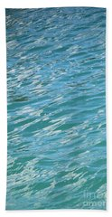 Shades Of Tropical Blue Water Bath Towel