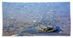 Bath Towel featuring the photograph Shallow Water by Patti Whitten