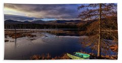 Shaw Pond Sunrise - Landscape Bath Towel