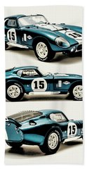 Shelby Cobra Daytona Bath Towel